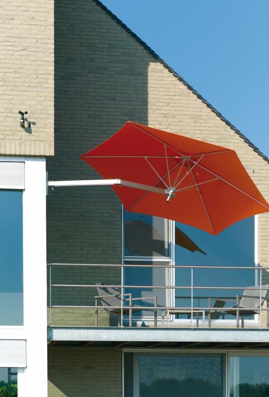 parasol pour balcon terrasse en hauteur