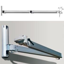 sombrero parasol bras t lescopique en aluminium accrocher un mur ou sur pied. Black Bedroom Furniture Sets. Home Design Ideas