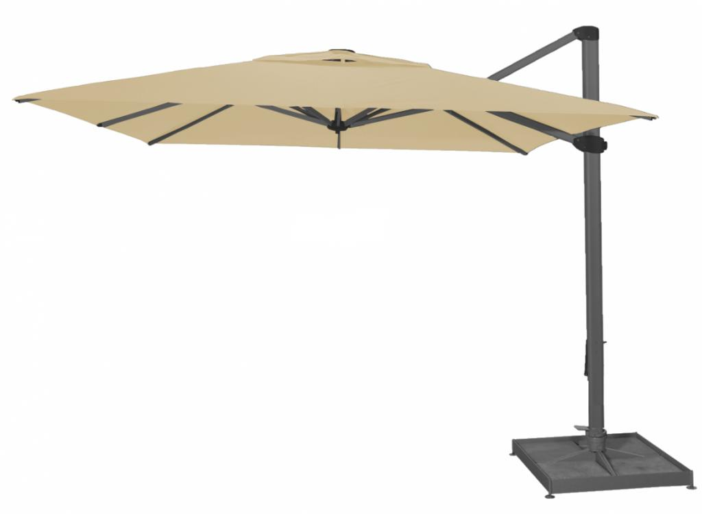 parasol excentr palestro solero en 3x4m ou 4x4m pour. Black Bedroom Furniture Sets. Home Design Ideas