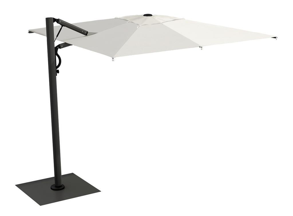 parasol déporté grande qualité résistant au vent