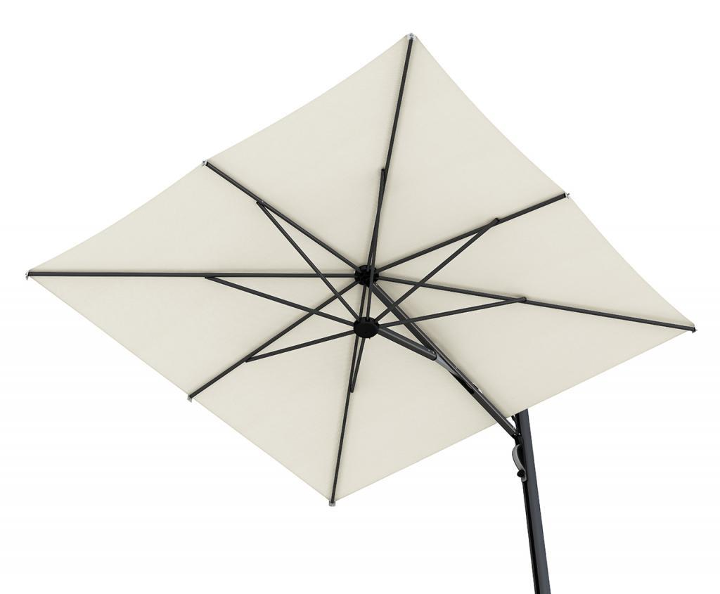 parasol de haute qualité à mât déporté professionnel