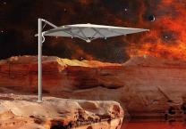 parasol luxe 3x3m Astro Spacegray Scolaro