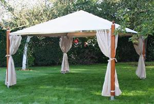 Beautiful Tente De Jardin En Bois Contemporary - Awesome Interior ...