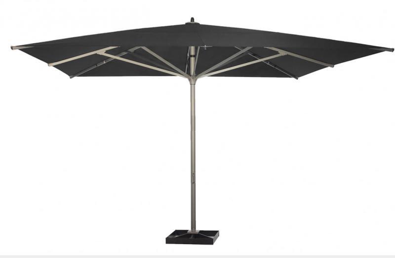 parasol coloris anthracite gris grand parasol