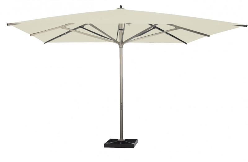 parasol géant blanc écru