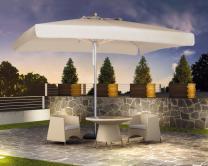 parasol design pour restaurant