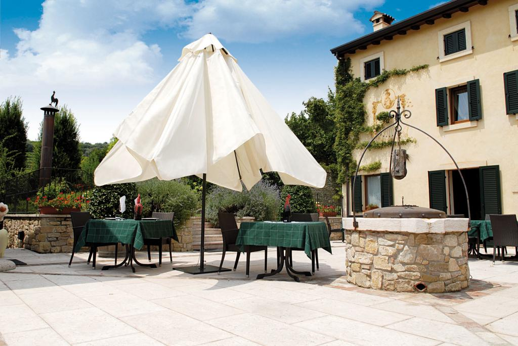 Parasol restaurant Leonardo telescopic Scolaro