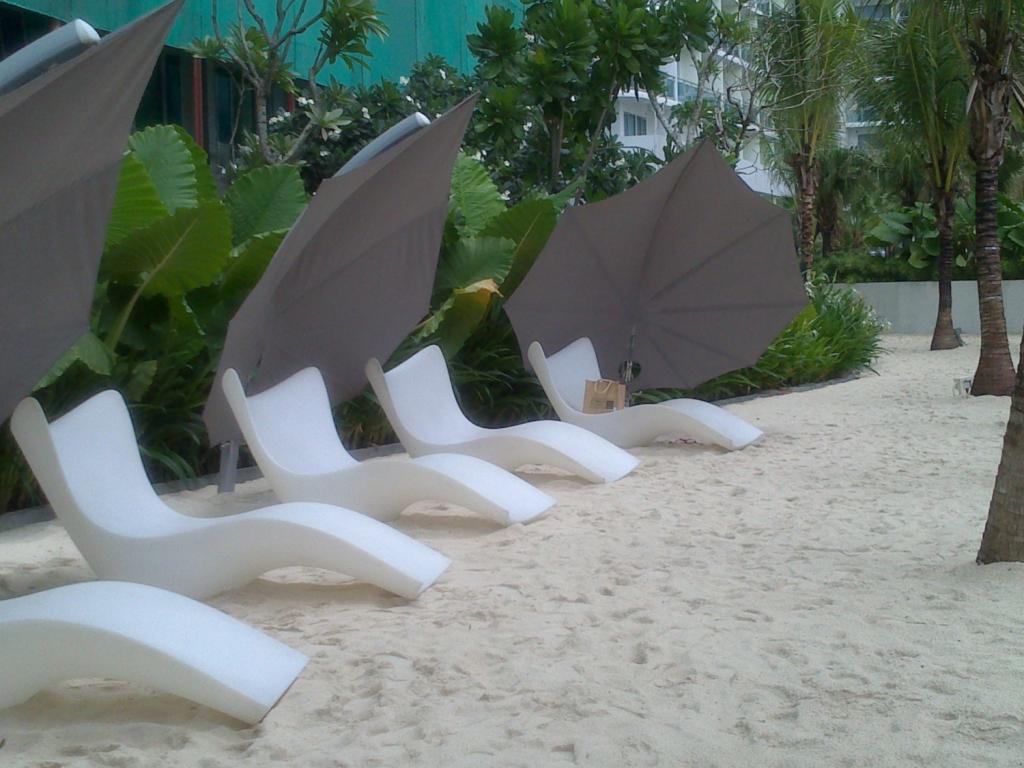 parasol plage de luxe