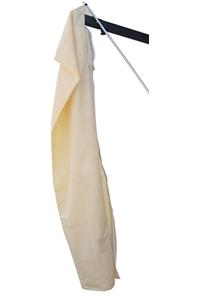 4 housses de protection écru pour parasol Poker