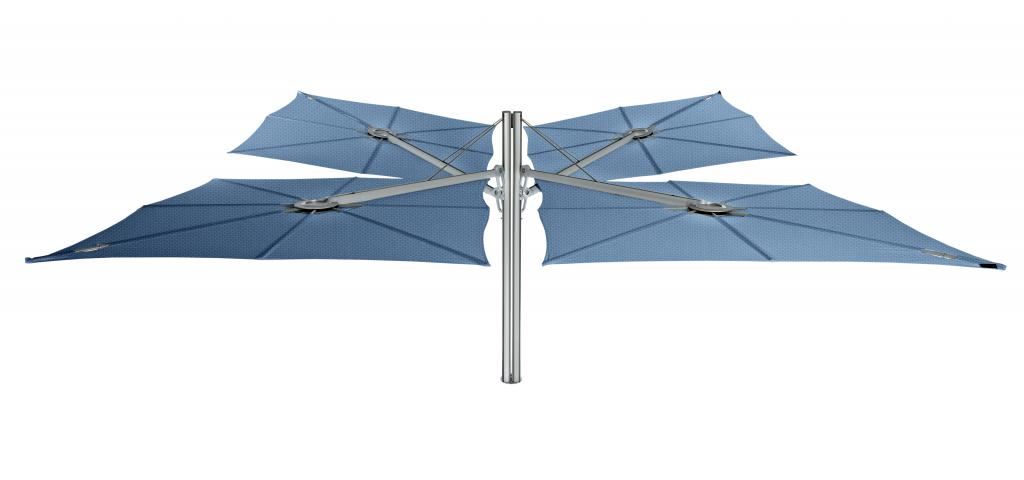Parasol inclinable excentré Spectra Duo et Multi UMBROSA