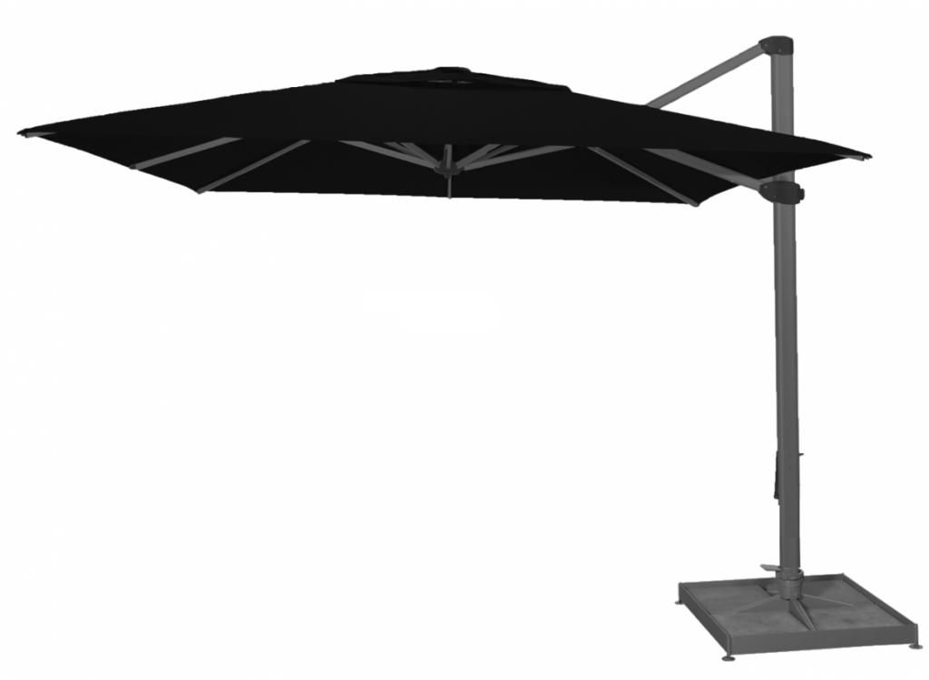 parasol excentr palestro solero en 3x4m ou 4x4m pour terrasse hotel restaurant maison. Black Bedroom Furniture Sets. Home Design Ideas