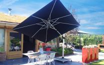 Parasol déporté 300cm*300cm Fratello Pro SOLERO