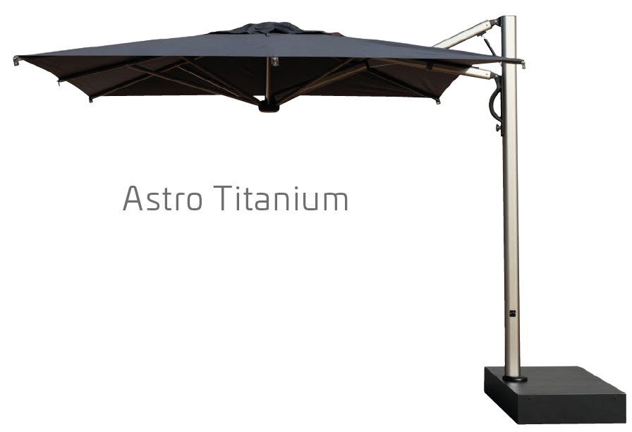 Parasol villa luxe Astro SCOLARO