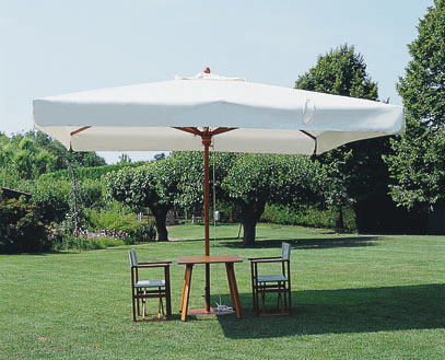 Grand parasol bois exotique Palladio Telescopic SCOLARO