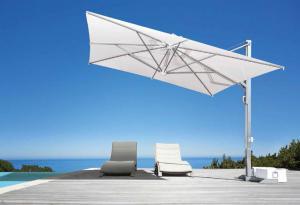 Parasol Galileo White ou Inox