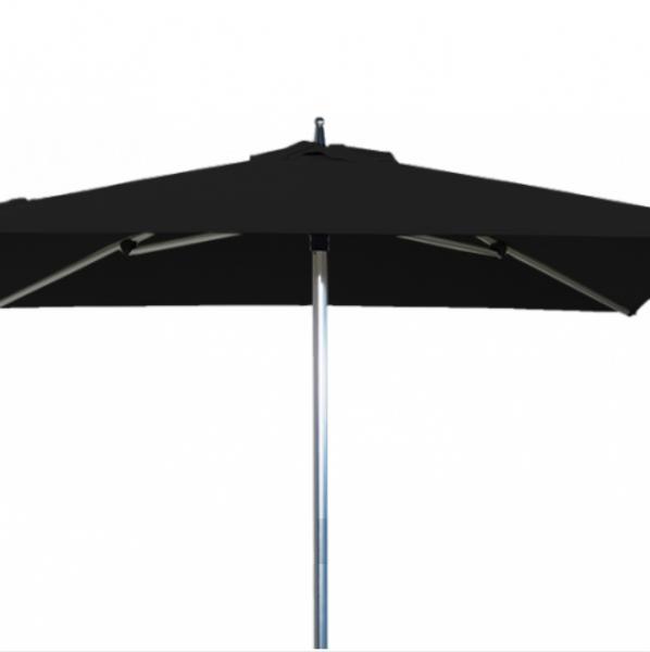 parasol de terrasse sublimo pour restaurant en carr 2x2m alu. Black Bedroom Furniture Sets. Home Design Ideas