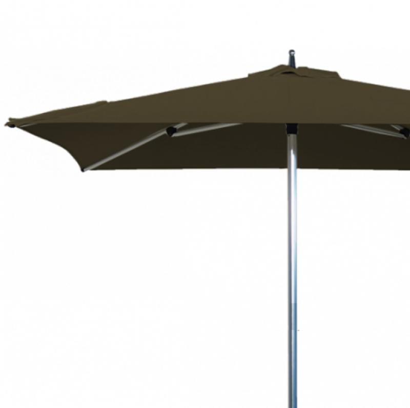 parasol de terrasse sublimo pour restaurant en carr 2x2m alu. Black Bedroom Furniture Sets. Home Design Ideas