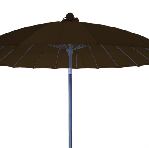 solero vaticano parasol mat central inclinable rond en aluminium chrom. Black Bedroom Furniture Sets. Home Design Ideas