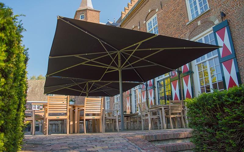 parasol géant de qualité luxe design