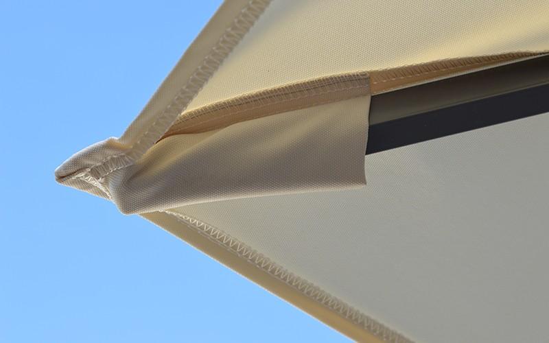 Cielo plus finition baleine toile parasol déporté