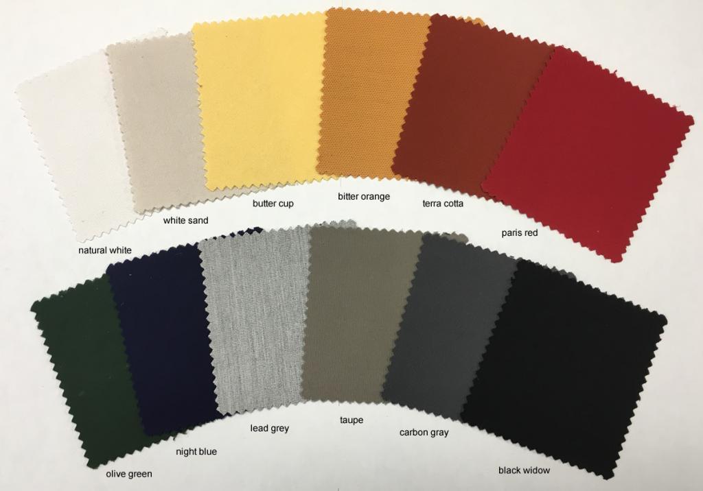 Coloris toiles