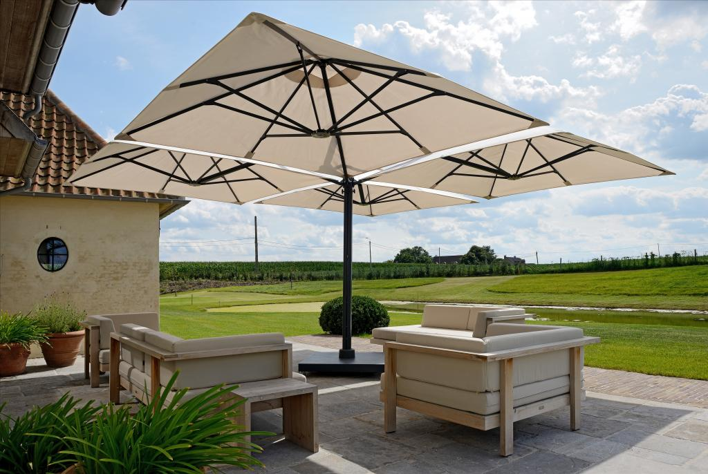parasol terrasse good parasol dport dcor duailleurs with parasol terrasse luouverture de ce. Black Bedroom Furniture Sets. Home Design Ideas