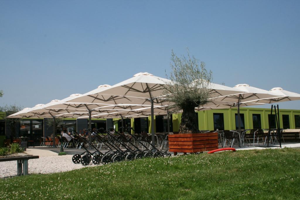 Prostor p6 golf lille grand parasol parasols anti  pluie parasol chauffage lumiere parasol excentre design