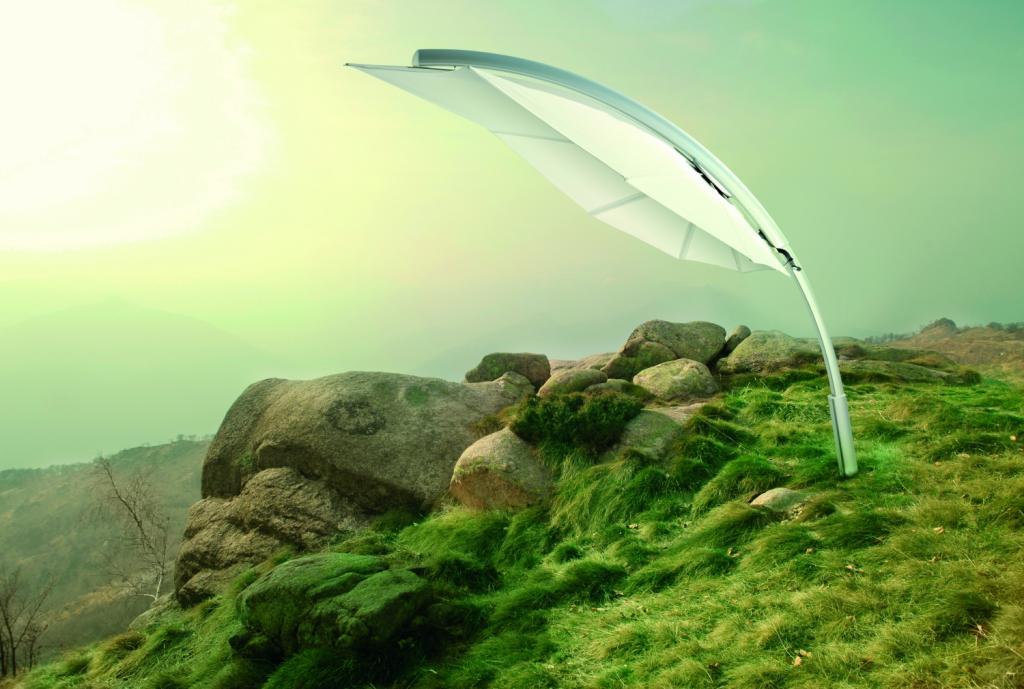 Parasol pour bord de psicine Icarus UMBROSA