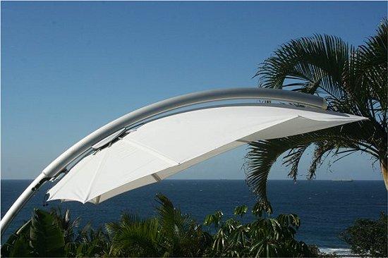 parasol haut de gamme feuille